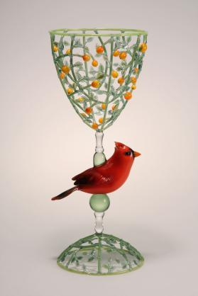 Chalice Series with Cardinal